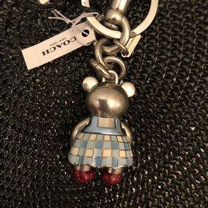 Coach Accessories - 🆕 Coach Wizard of Oz Dorothy Key Fob & Bag Charm